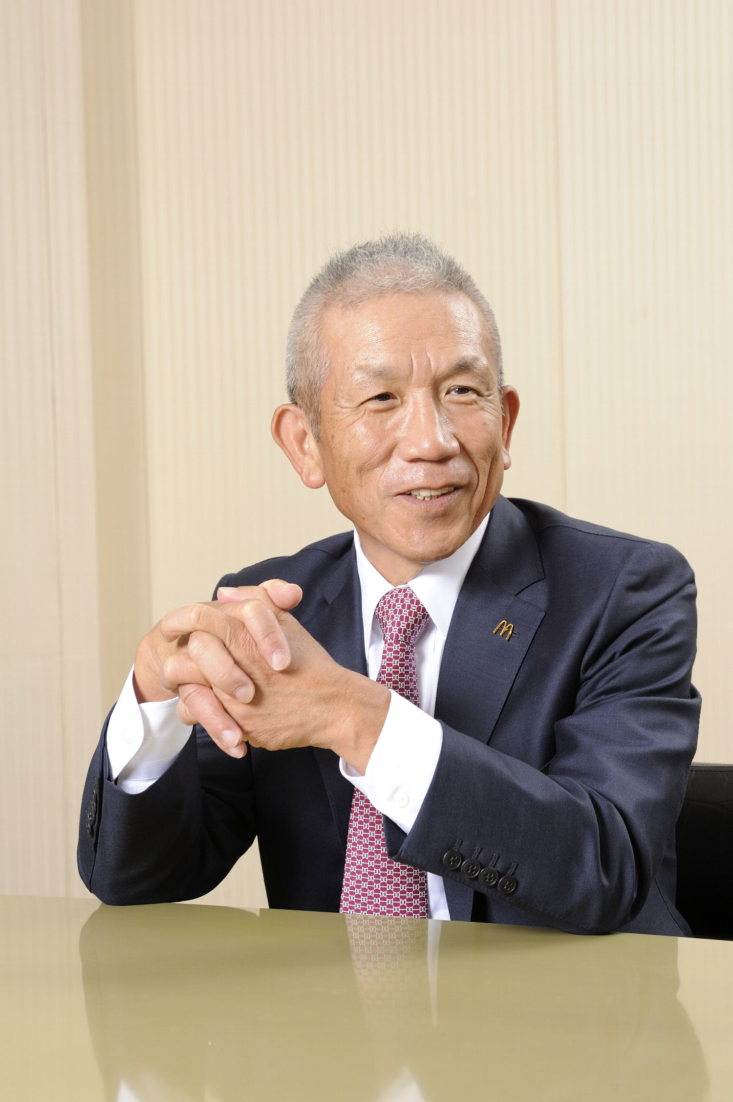 マクドナルド 社長 日本